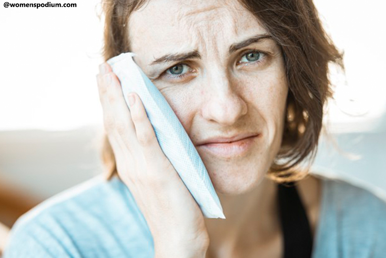 Home Remedies for Toothache - Ice Pack