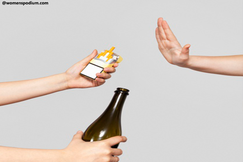 Say'No' to Alcohol and Smoking