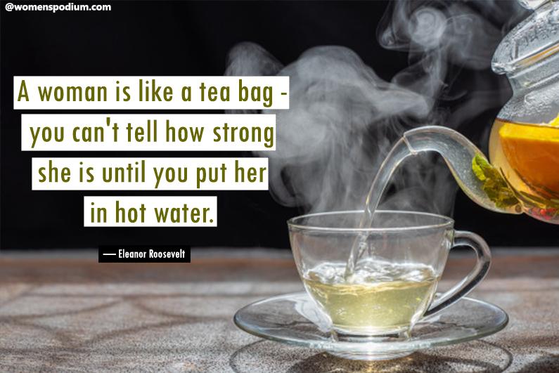 — Eleanor Roosevelt