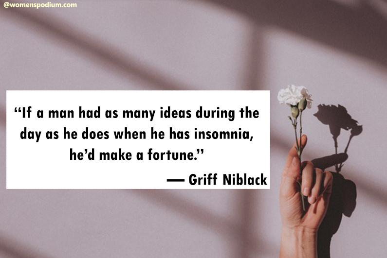 — Griff Niblack
