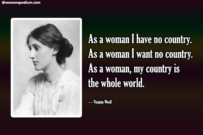 — Virginia Woolf