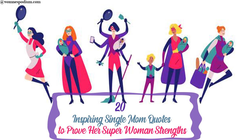 Quotes single mom Single Mom