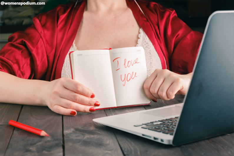 long-distance relationship - Personalize your words
