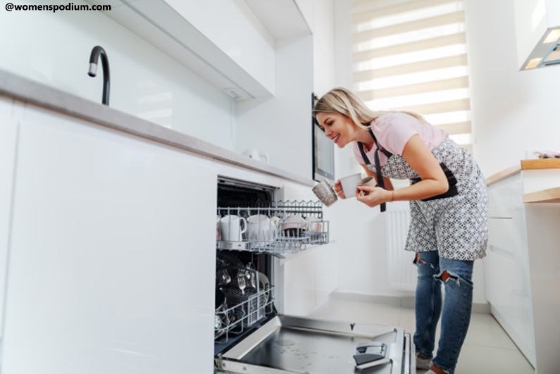 Modern Kitchen Appliances - Dishwasher