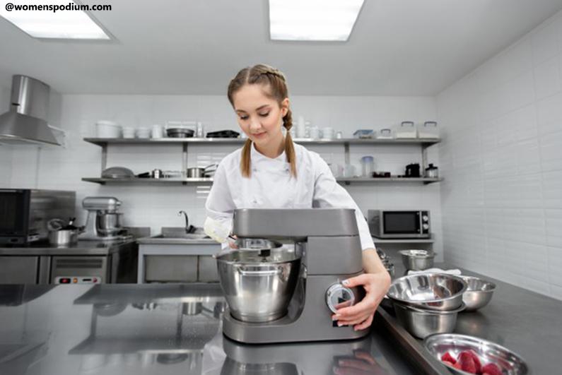 Modern Kitchen Appliances - Tilt-Head Stand Mixers