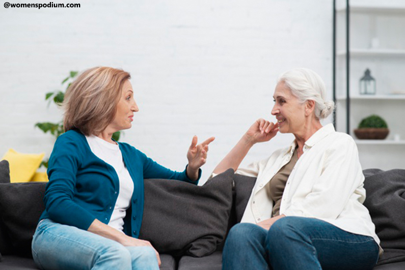 Female Friendship Grows Well with Age