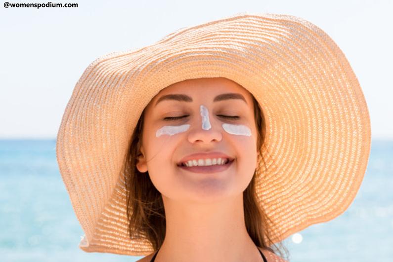 Aging Tips for Women - Sunscreen