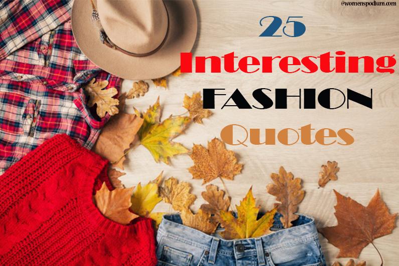 Renown Fashion Quotes