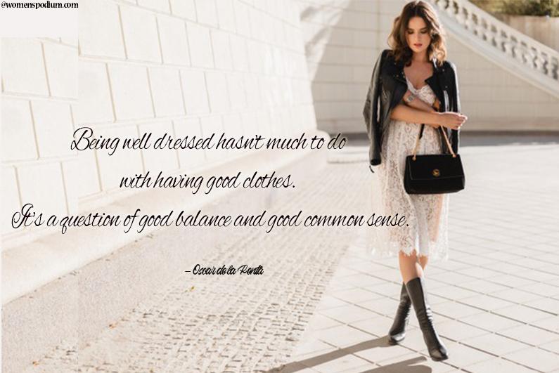 superb fashion quotes