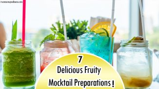 7 Delicious Fruity Mocktail Preparations!