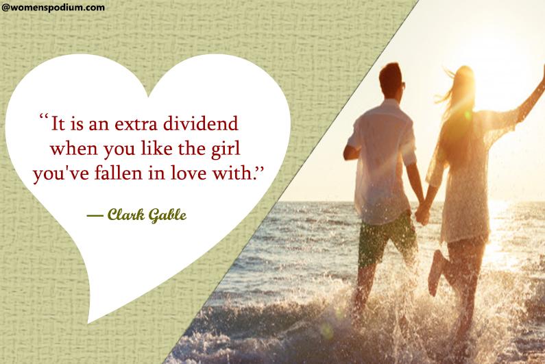 — Clark Gable