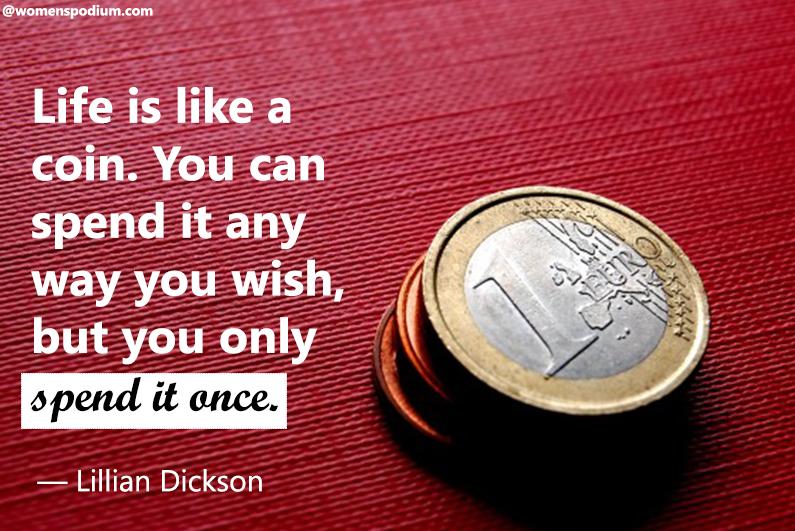 — Lillian Dickson