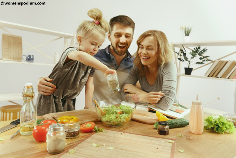 learn how to cook - Family Bonding Strengthens