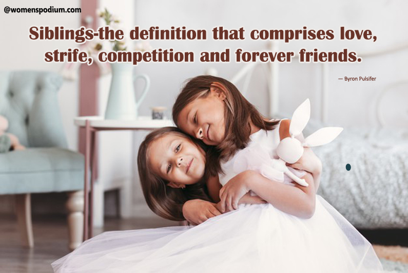 Quotes on siblings