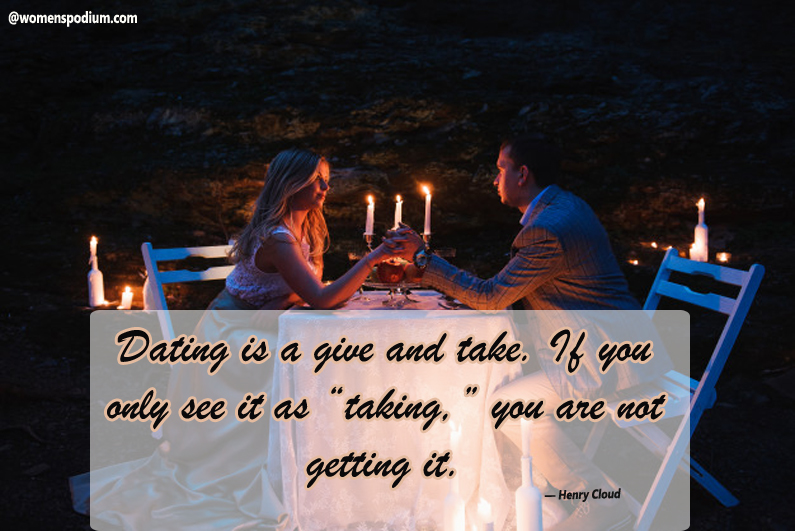 Henry Cloud - dating quotes