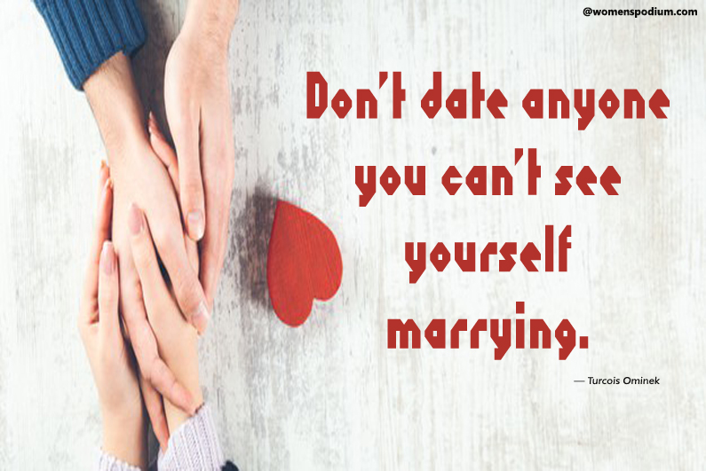Turcois Ominek - dating quotes