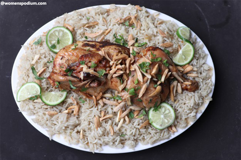 Middle Eastern Recipes - Arabic Chicken Fatteh