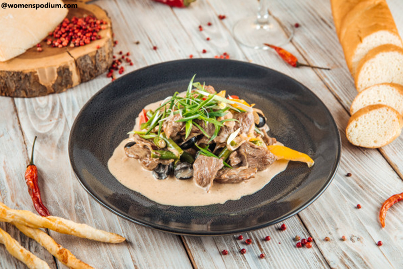 Middle Eastern Recipes - Creamy Lamb Stew