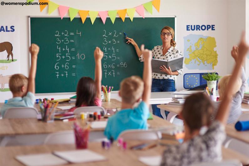 Jobs for Working Moms - School Teacher