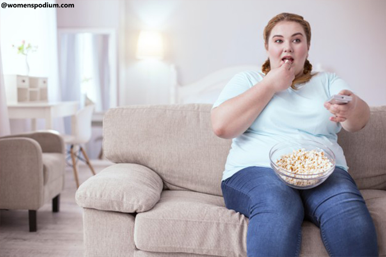 Compulsive Overeating - What Causes to Eat more While Watching TV