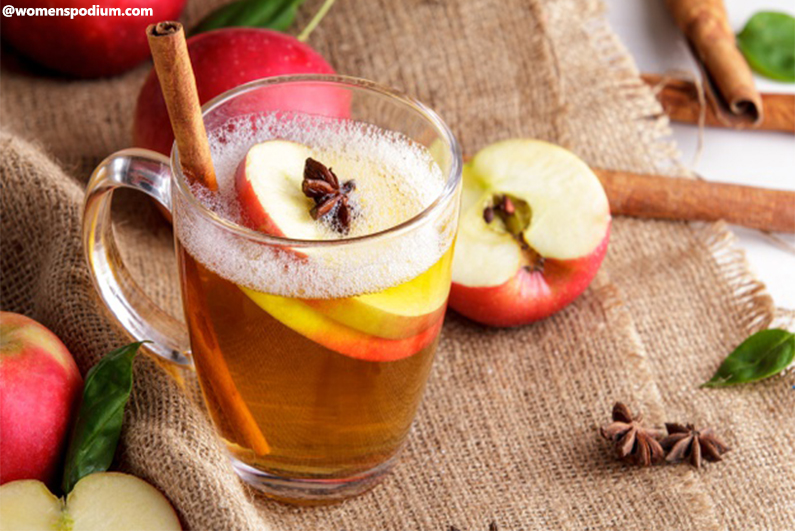 Alternatives to Coffee - Warm Apple Cider