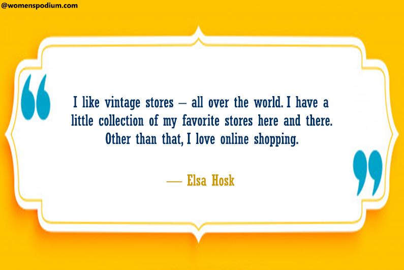Love online shopping