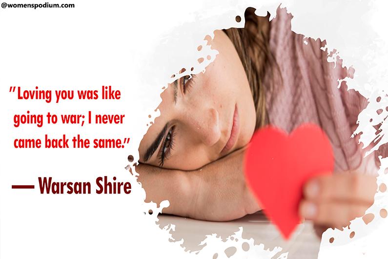 — Warsan Shire