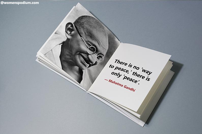 ―Mahatma Gandhi