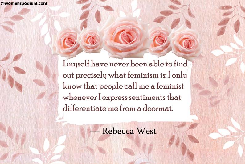 ― Rebecca West
