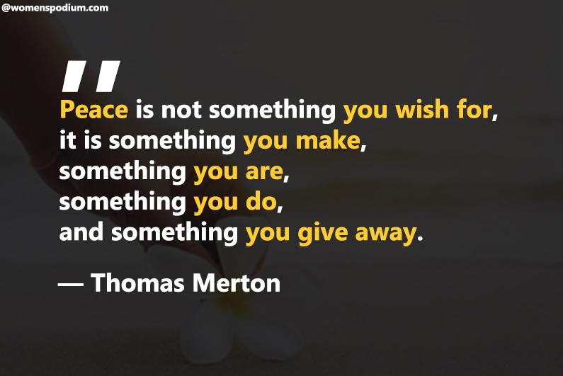 ―Thomas Merton