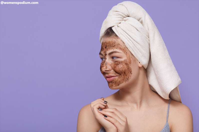 Exfoliate to Prep the Skin