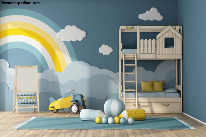 Rainbow Themed Room Design
