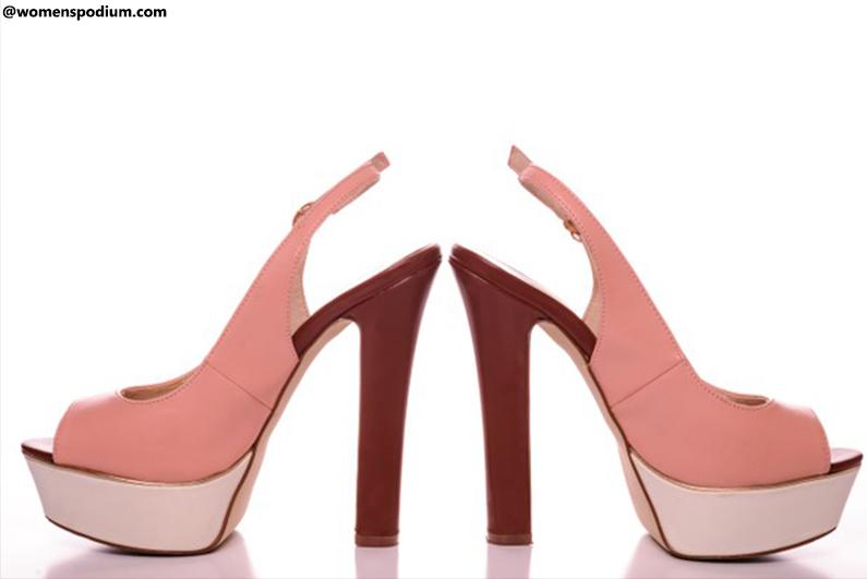 Peep-Toe Heels
