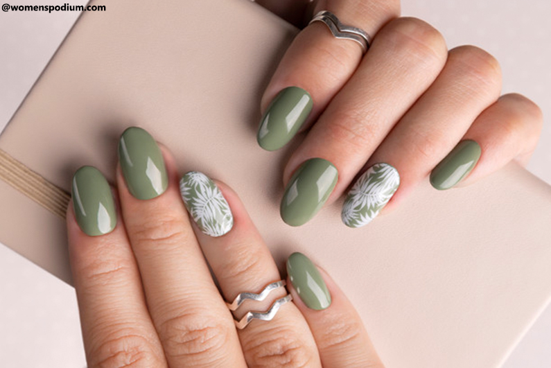 Decal and Sticker Nail Designs
