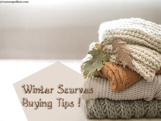 winter scarves buying tips
