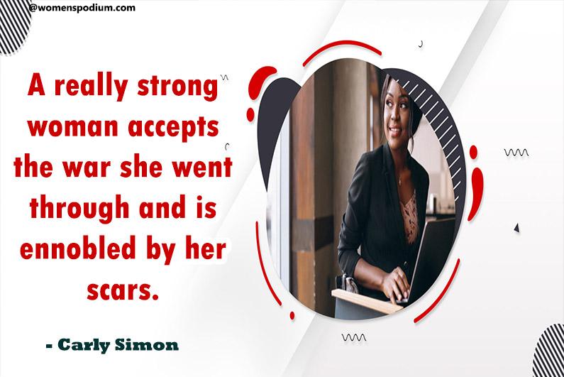 - Carly Simon