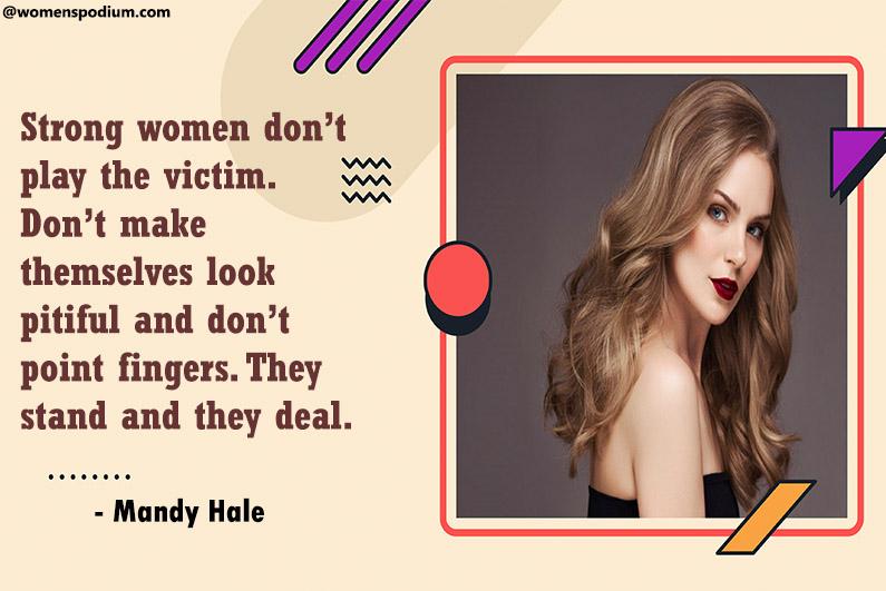 - Mandy Hale