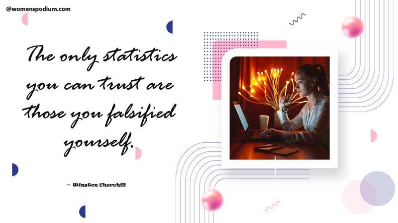 Trust your own statistics
