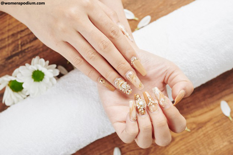 Nails With Gems