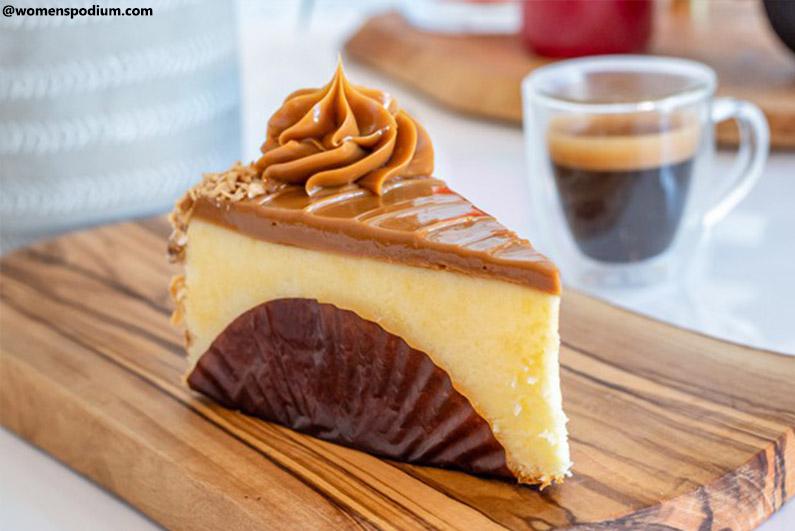 Caramel Air Fryer Cheesecake