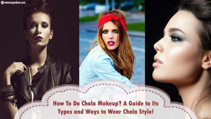 Chola Makeup Guide