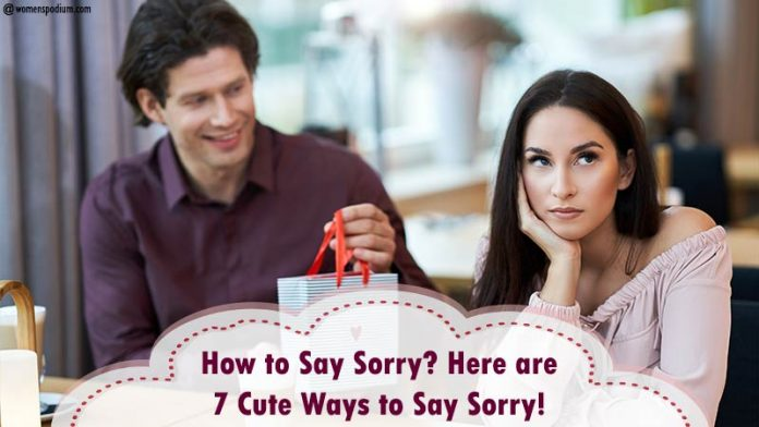 Cute Ways to Say Sorry