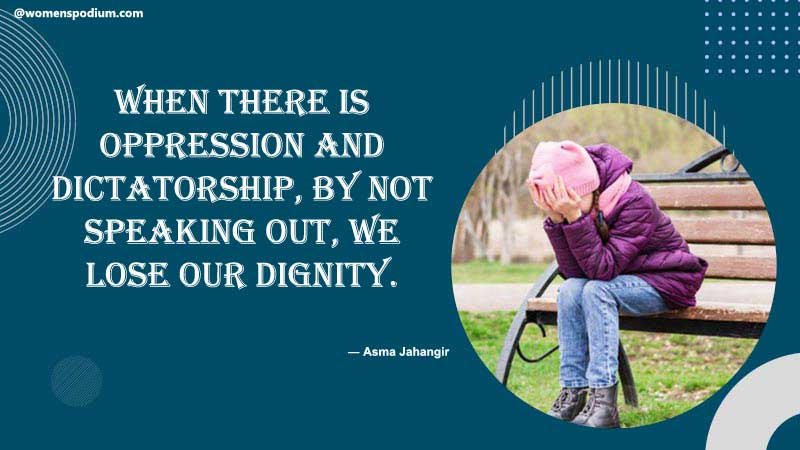 Quotes on dignity