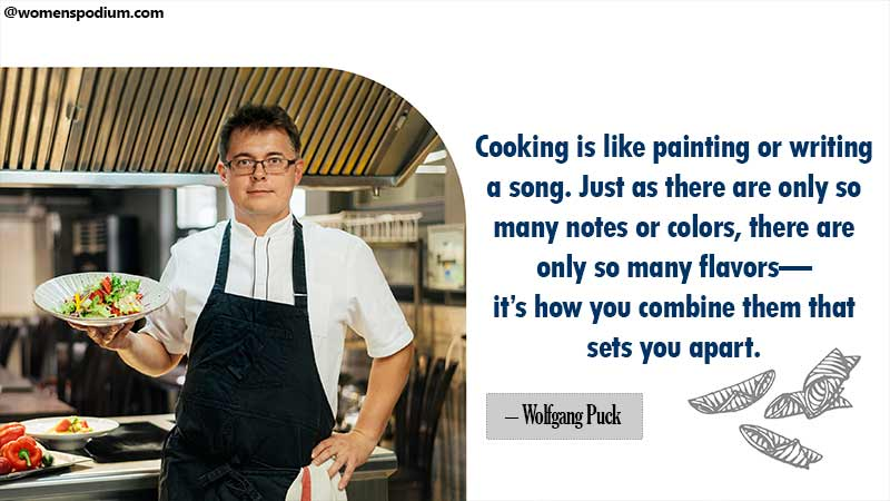Quotes about cooking