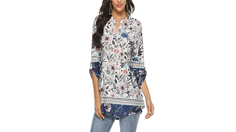 Floral Top for Women