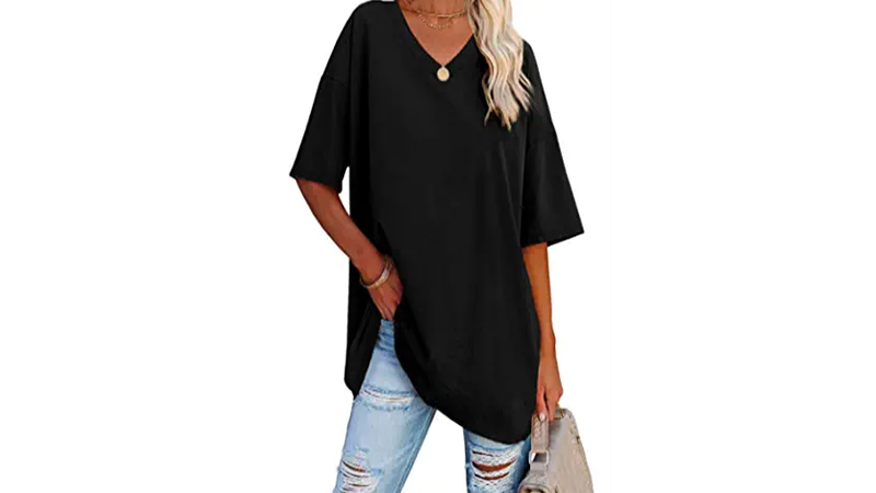Extra Long Tunic Top and Legging for Women