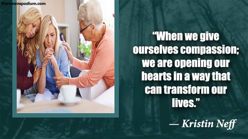 give ourselves compassion
