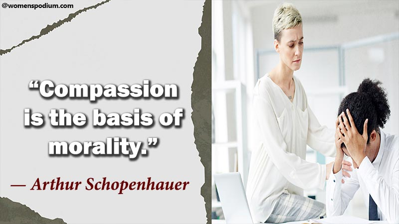 compassion is basis of morality