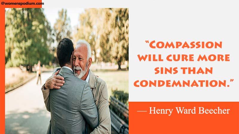 compassion will cure