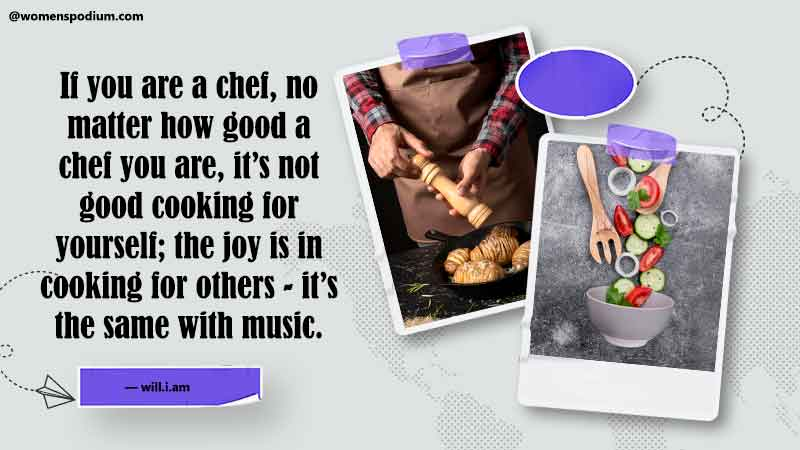 cooking for others - cooking quotes
